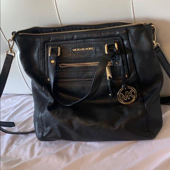 Black Michael Kors Tote Bag